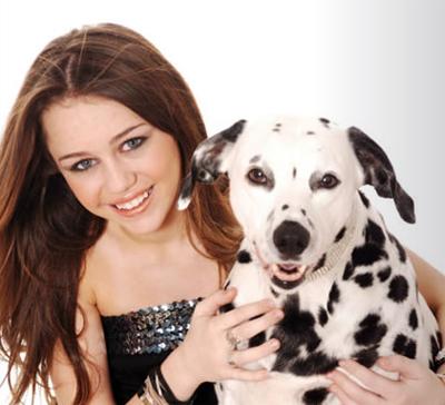 Hanna Montana Miley_with_dog